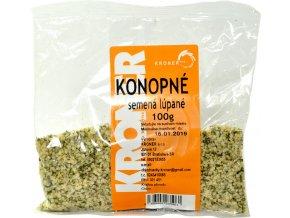 Konopné semienka lúpané - 100g - Kroner