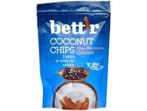 Kokosové chipsy s kakaom BIO - 70g - Bettr