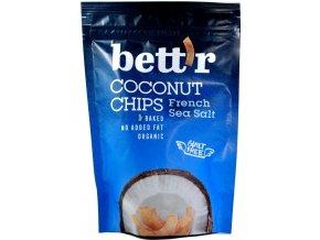 Kokosové chipsy morská soľ BIO - 70g - Bettr