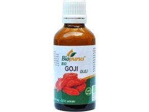 Goji olej / Kustovnica čínska olej 100% BIO - BIOPURUS