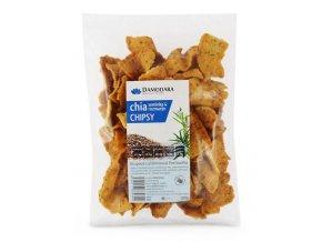 Chia chipsy a rozmarín - 150g - Damodara