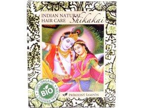 Shikakai práškový šampón - 200g - Indian natural hair care