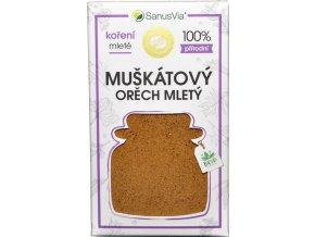 Muškátový orech mletý BIO - 29g - SanusVia