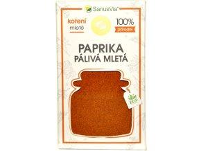 Paprika pálivá mletá BIO - 45g - SanusVia