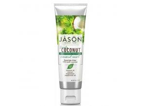 Zubná pasta Simply coconut posiľňujúca - 119g - JĀSÖN