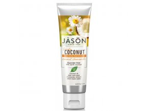 Zubná pasta Simply coconut ukľudňujúca s harmančekom - 119g - JĀSÖN