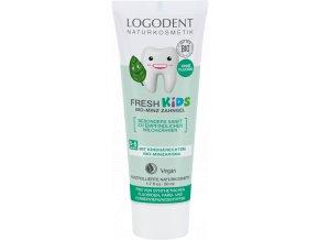 Detský zubný gel FRESH KIDS Mäta - 50ml - Logona
