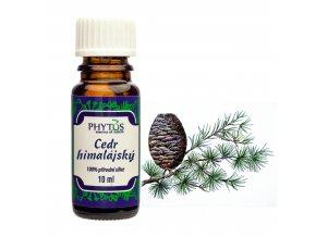 Céder himalájsky prírodný éterický olej 100% - 10ml - Phytos