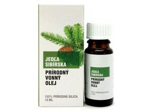 Jedľa sibírska prírodný éterický olej 100% - 12ml - Savor SK