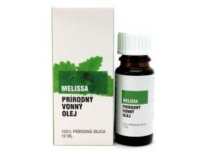 Melissa prírodný éterický olej 100% - 12ml - Savor SK