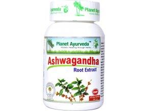 Ashwagandha kapsule extrakt 500mg 60cps. Planet ayurveda min