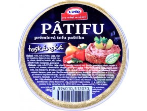 Patifu paštéta toskánska - 100g - Veto eco
