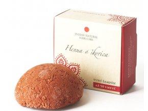 Henna a škorica (tuhý šampón) - 50g - Indian natural hair care