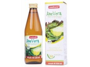 Aloe vera šťava 100% BIO - 330ml - Medicura