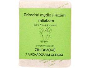 Žihľavové mydlo s avokádovým olejom - 120g - Sylvia