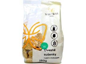 Ovsené sušienky goji a kokos - 150g - Natural Jihlava