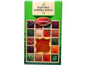 Kajenská paprika mletá - 50g - DNM