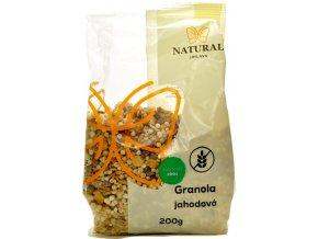 Granola bezlepková jahodová - 200g - Natural Jihlava