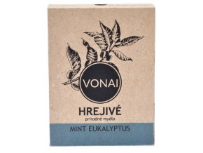 Hrejivé mydlo prírodné Mint Eukalyptus - 100g - Vonai