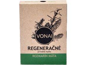 Regeneračné mydlo prírodné Rozmarín Mäta - 100g - Vonai