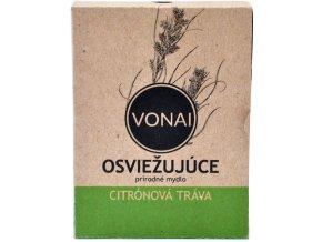 Osviežujúce mydlo prírodné Citrónová tráva - 100g - Vonai