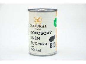Kokosový krém 30% BIO - 400ml - Natural Jihlava