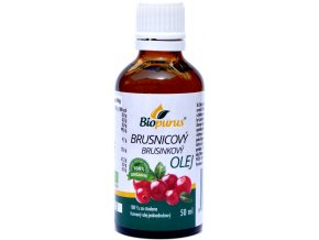 Brusnicový olej 100% BIO - Biopurus