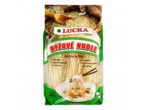 Cestoviny ryžové rezance široké 3mm - 240g - Lucka