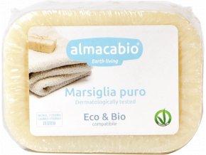 Mydlo marseilské tuhé na pranie BIO - 250g - Almacabio