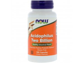 Acidophilus 2 miliardy probiotiká - 100 kapsulí - NOW foods