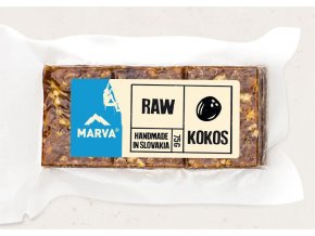 Kokos tyčinka RAW VEGAN - 75g - Marva