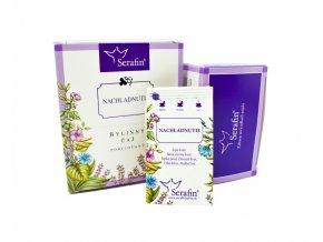 Nachladnutie bylinný čaj porciovaný - 37,5g - Serafin