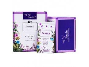 Ženský bylinný čaj porciovaný - 37,5g - Serafin