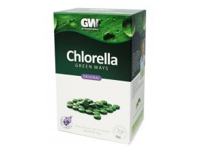 Chlorella tablety - 330g - Green ways