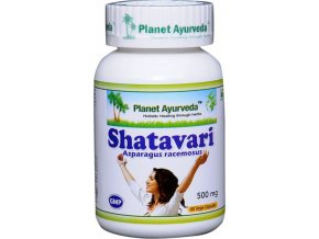 Shatavari extrakt 500mg - 60 kapsúl - Planet ayurveda