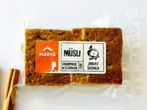 Jablko škorica tyčinka musli - 80g - Marva