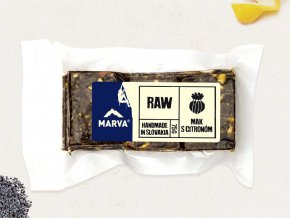 Mak s citrónom RAW - 75g - Marva