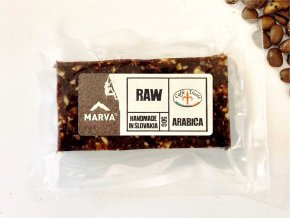 Tyčinka Arabica kávová RAW - 50g - Marva