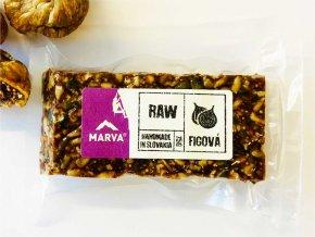 Figová tyčinka RAW - 75g - Marva