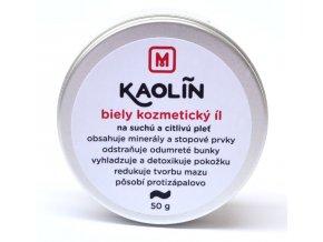 Kaolín biely kozmetický íl - 50g - Slovenská mydláreň