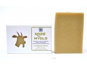 Mydlo kozie mlieko Citrónová tráva - 110g - Slovenská mydláreň