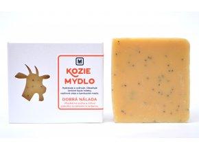 Mydlo kozie mlieko Dobrá nálada - 110g - Slovenská mydláreň