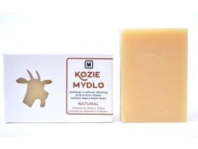 Mydlo kozie mlieko Natural - 110g - Slovenská mydláreň