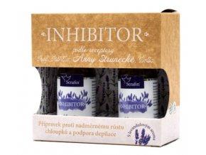 Inhibítor tinktúra proti nadmernému rastu chĺpkov - 2 x 50ml - Serafin