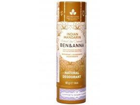 Ben & Anna Indická mandarinka deodorant - 60g - Ben & Anna