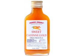 Sweet Cayenne Gold chilli omáčka - 100ml - Feriho Šmaky