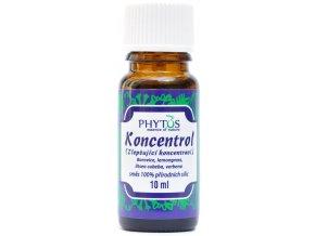 Koncentrácia/Koncentrol prírodný éterický olej 100% - 10ml - Phytos