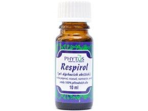 Nádcha/Respirol prírodný éterický olej 100% - 10ml - Phytos