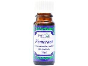 Pomaranč prírodný éterický olej 100% - 10ml - Phytos
