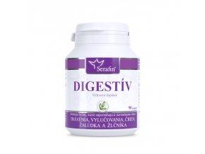 Digestív kapsule na trávenie